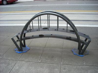Freemont Bridge Bike Rack