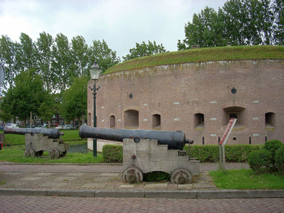 Cannon and fortress