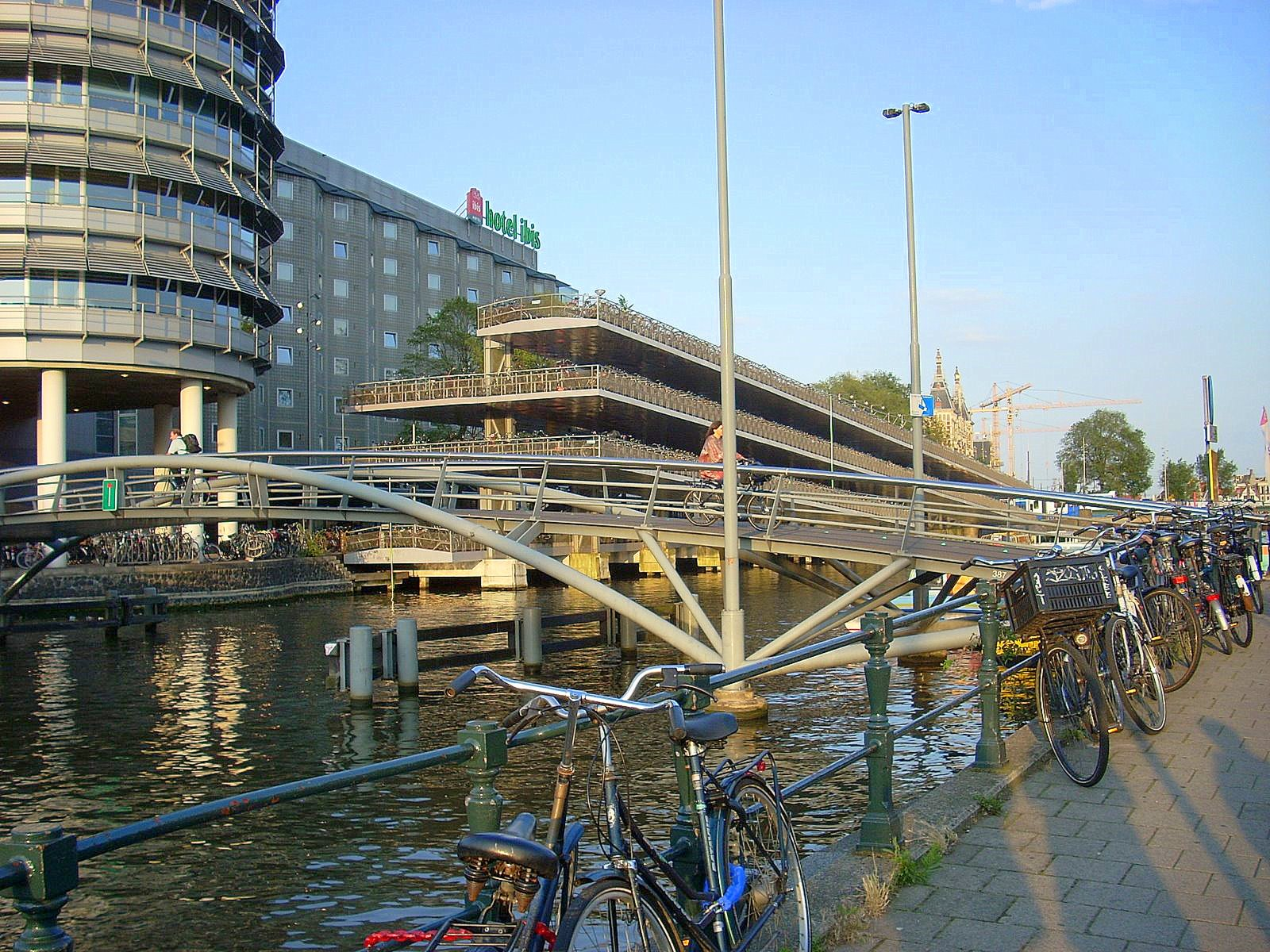 Hotel and bike parking
