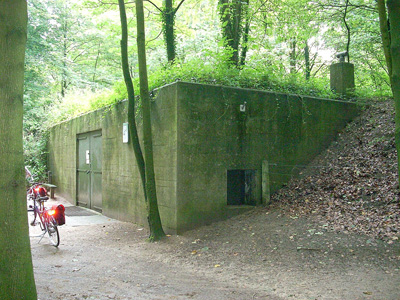 WWII Hospital bunker