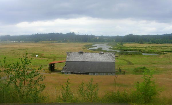 barn near Astoria