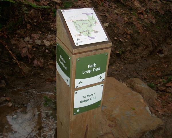 Mt Talbert Park Trail Signage