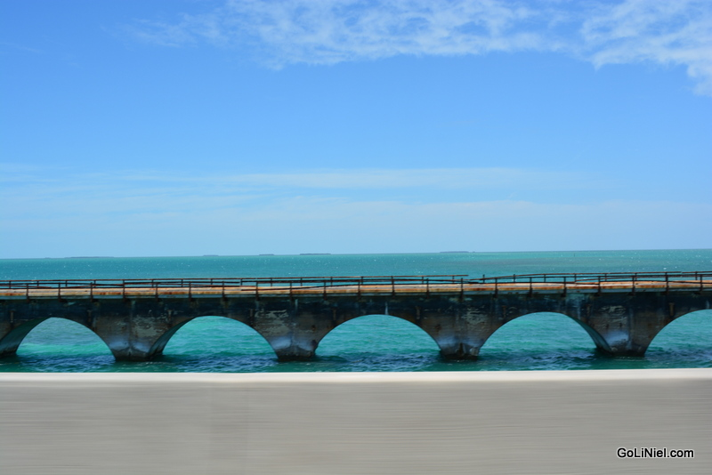 Drove past Seven Mile bridge on way to Key West