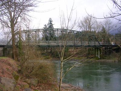 Bike/Pedestrian bridge over the Clackamas