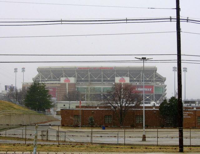 Louisville's Papa John Stadium